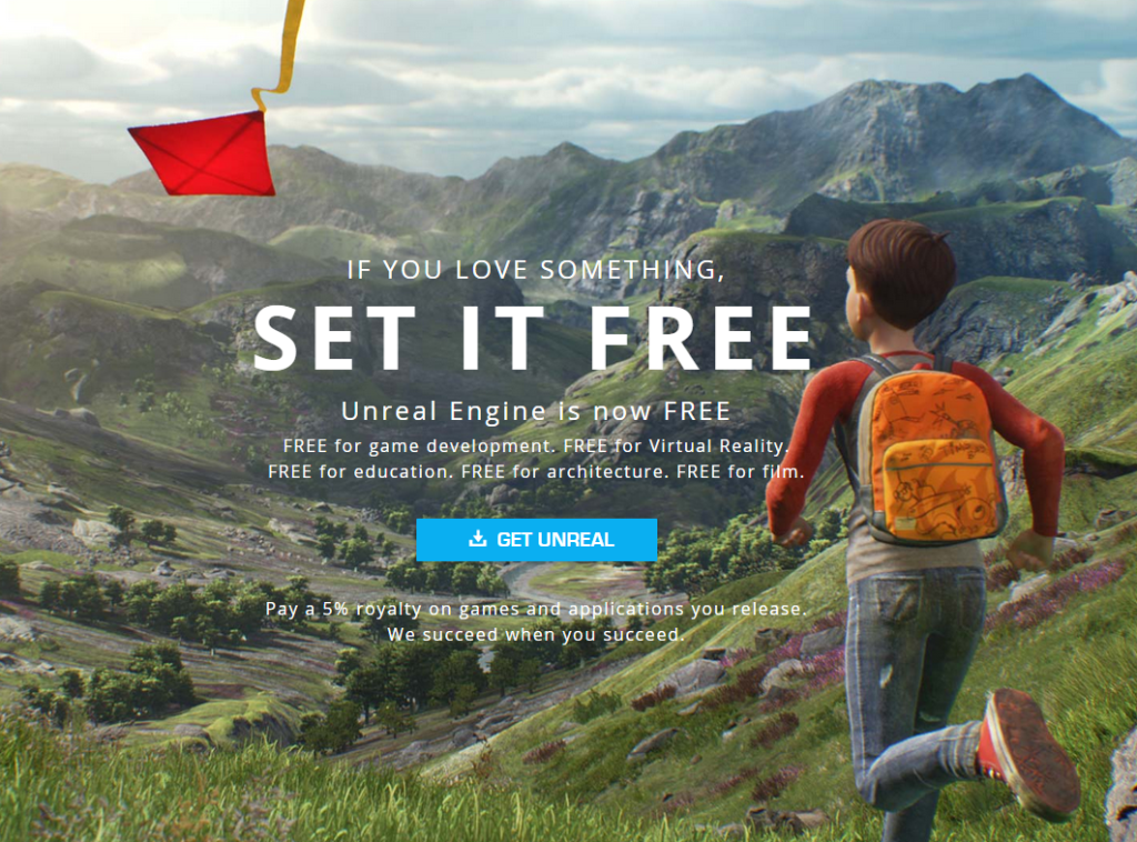 Unreal-Engine-4-goes-free