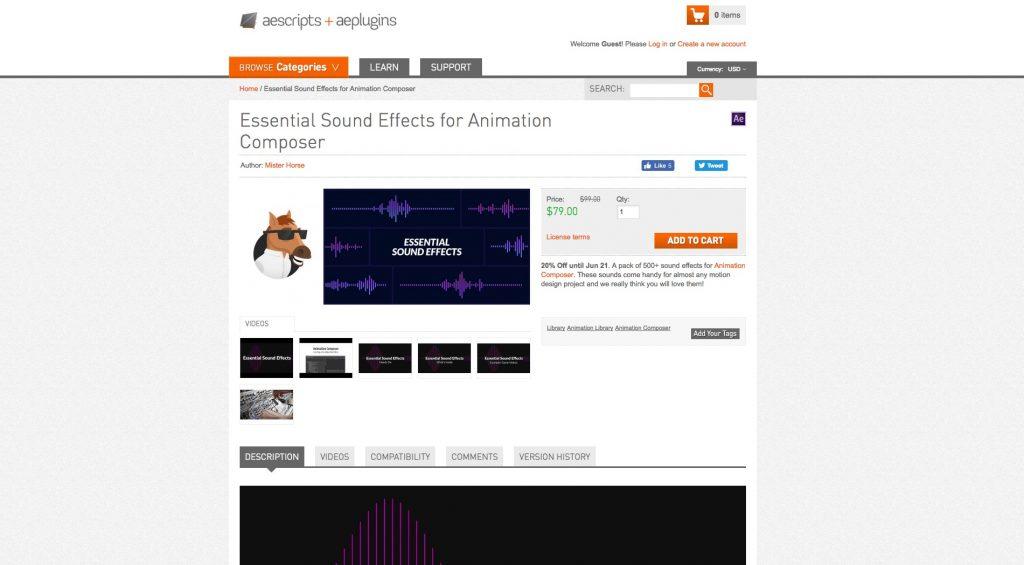 ナイスコスパ 580種類以上の音源を収録した essential sound effects