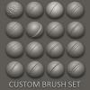 地味に便利なZBrush用縫い目ブラシ「16 Custom Seam/Stitch brushes」!!