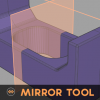 シンメトリーがモデリングを劇的に変える!!無料で使えるMaya用スクリプト「Mirror Tool v1.0」!!