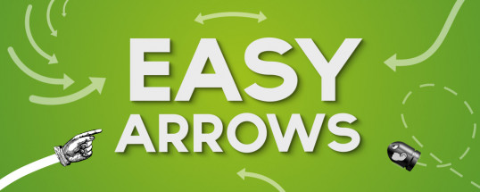 矢印アニメーションを一瞬で作成!!AEスクリプト「Easy Arrows」!!