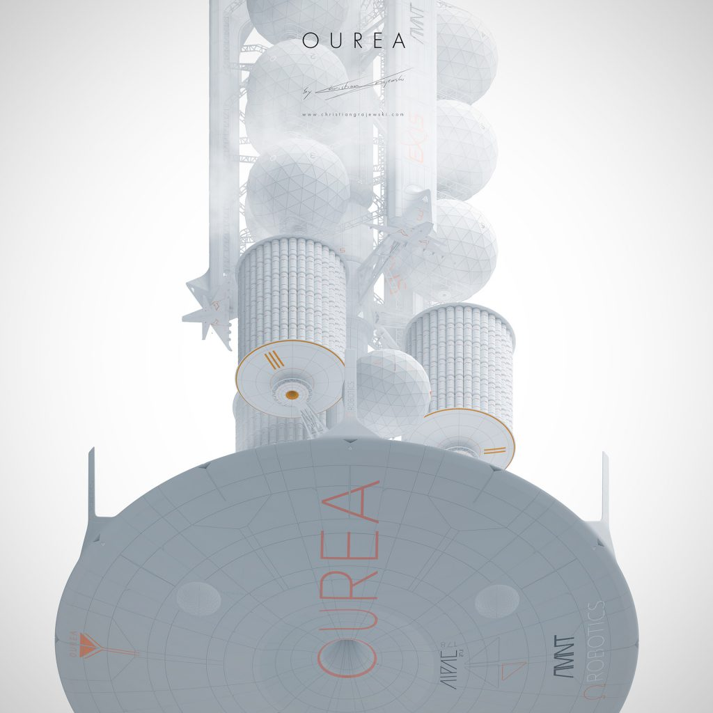 Sci-Fi Novel and Concept Art Book project; The OUREA