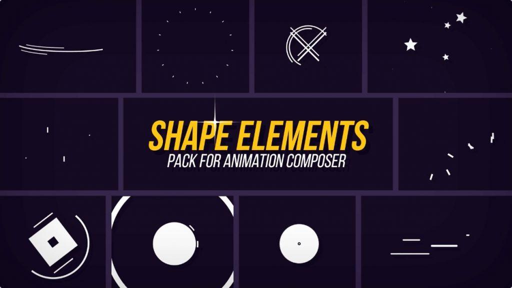 シェイプアニメ系の決定版 798種類のシェイプアニメーションを収録