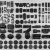 無料&商用可能!!150種類のモデルがバンドルされたメカ系キットバッシュ「FREE Hard Surface Kitbash Vol. 1」!!